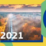Interreg wishes you a happy #NewYear!🎉  This year, we'll double down on our efforts to create a solidly governed, safe & secure EU 💪🏻 #DYK 2021 is also the #EUYearofRail, highlighting the role of the railway sector in the #EUGreenDeal objectives?🍃🚆  Follow us for updates! 😉