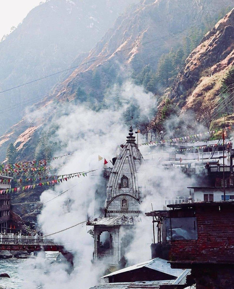 Himachal ❄️ - Manikaran Sahab 🙏❣️ #Himachal #mountain #snow #Snowfall #photography #PhotoOfTheDay #iamlifelover #India #ParvatiValley #Tosh #Manikaran #kasol #HimachalPradesh