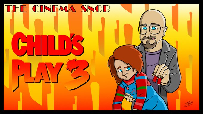 """""""Nothing like a little strangulation to get the circulation going!""""  The Cinema Snob reviews CHILD'S"""