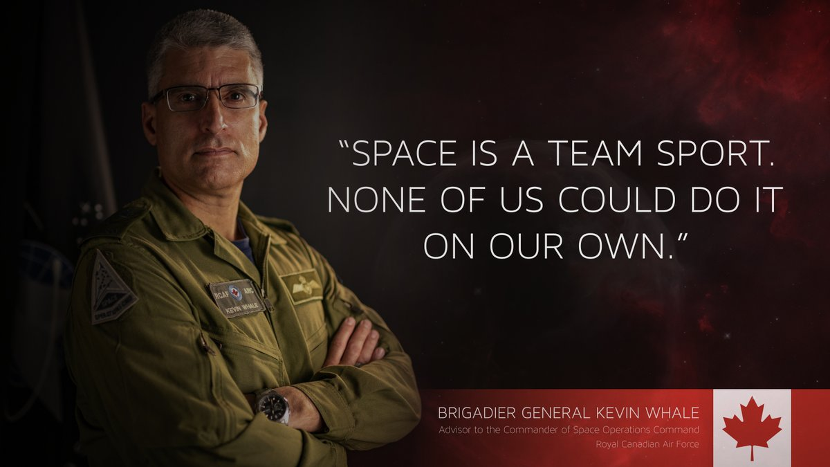 'There is no I in TEAM' is true in the space domain too. #BuildtheSpaceForce #SemperSupra #PartnersInSpace