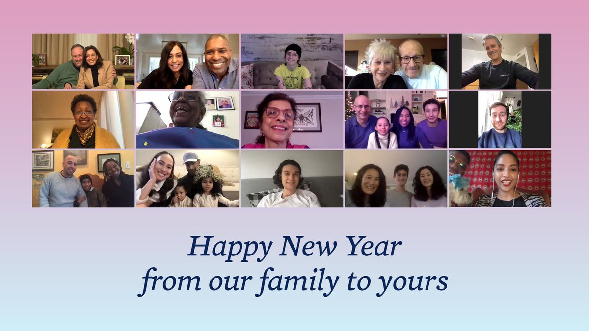 We couldn't have gotten through last year without our family Zooms.