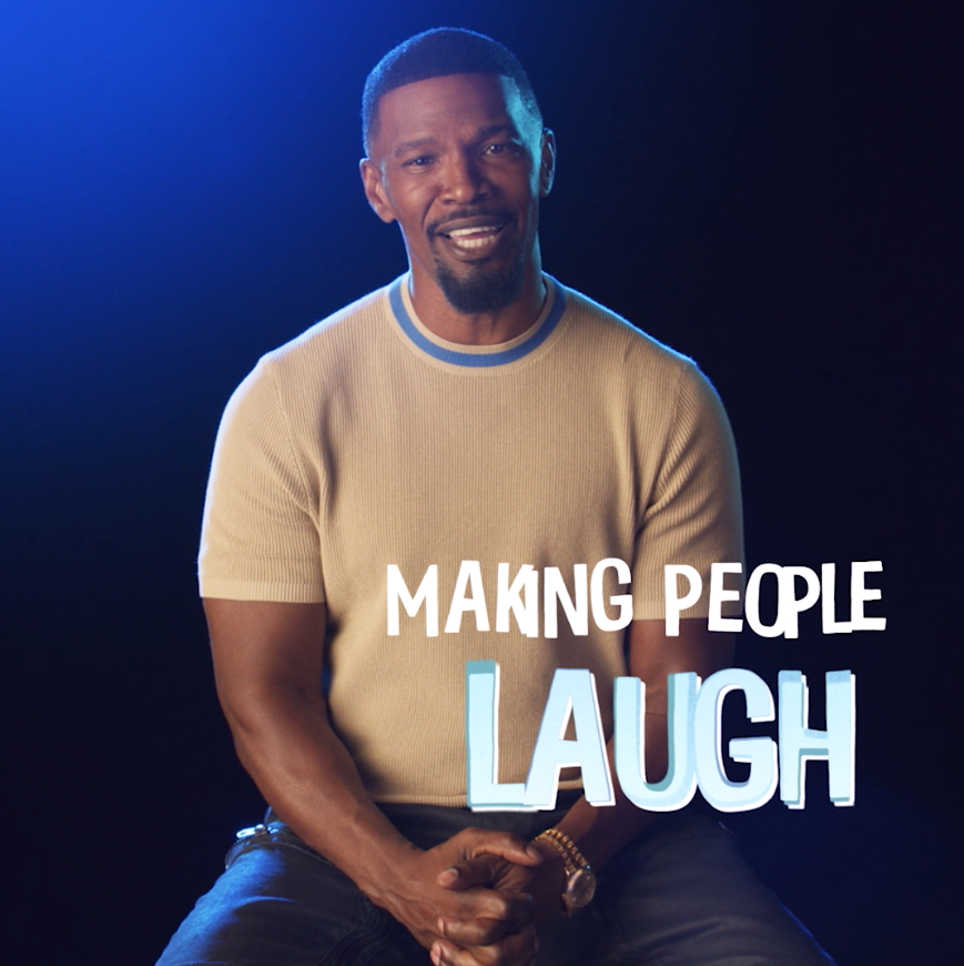Watch to hear about Jamie Foxx's passion for comedy and the connection to his character, Joe Gardner, in #PixarSoul.