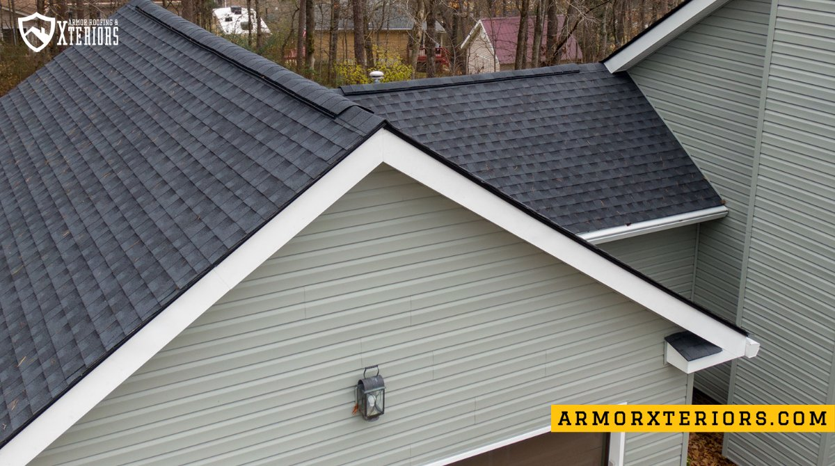 Another East Brainerd home protected with an Armor Roof!  #roofingcompany #chattanooga #ringgold #armorup #armorxteriors #armorroofing