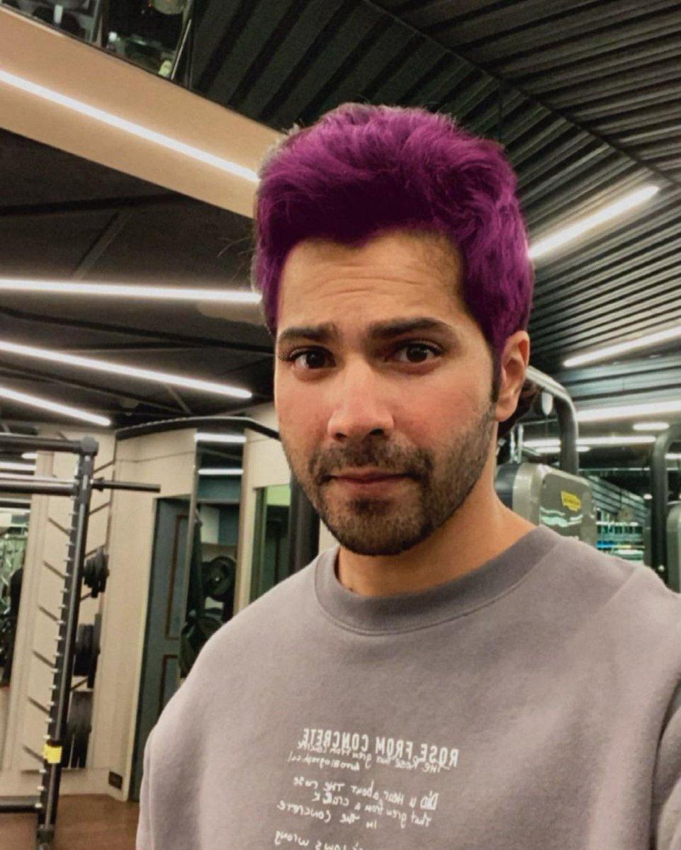 @Varun_dvn it's time for #varunsays purple Dhawan. 😌💜