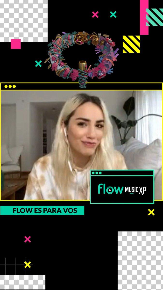 . @lalioficial habló con @CrisVanadia Y vos lo viste primero en @flowmusicxp  ! #FlowEsParaVos ⚡⚡