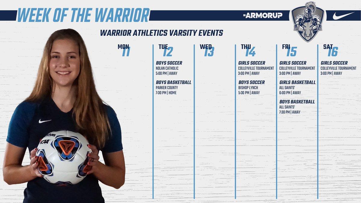 This Week in Varsity Athletics!!  #ARMORUP   #FORHIM