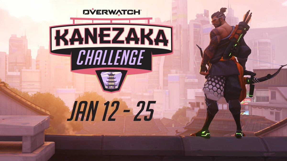 The dragon awakens.  Play Overwatch Kanezaka Challenge on Jan 12!
