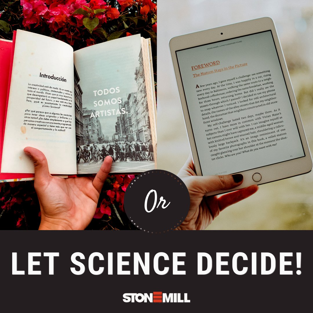 """""""The science of today is the technology of tomorrow."""" - Edward Teller  So, if technology says #ebooks, our mind, body & soul prefer #prints! But, what does science say? Read  to find out.  #books #sciencetwitter #scienceofreading #readers #writingcommunity"""