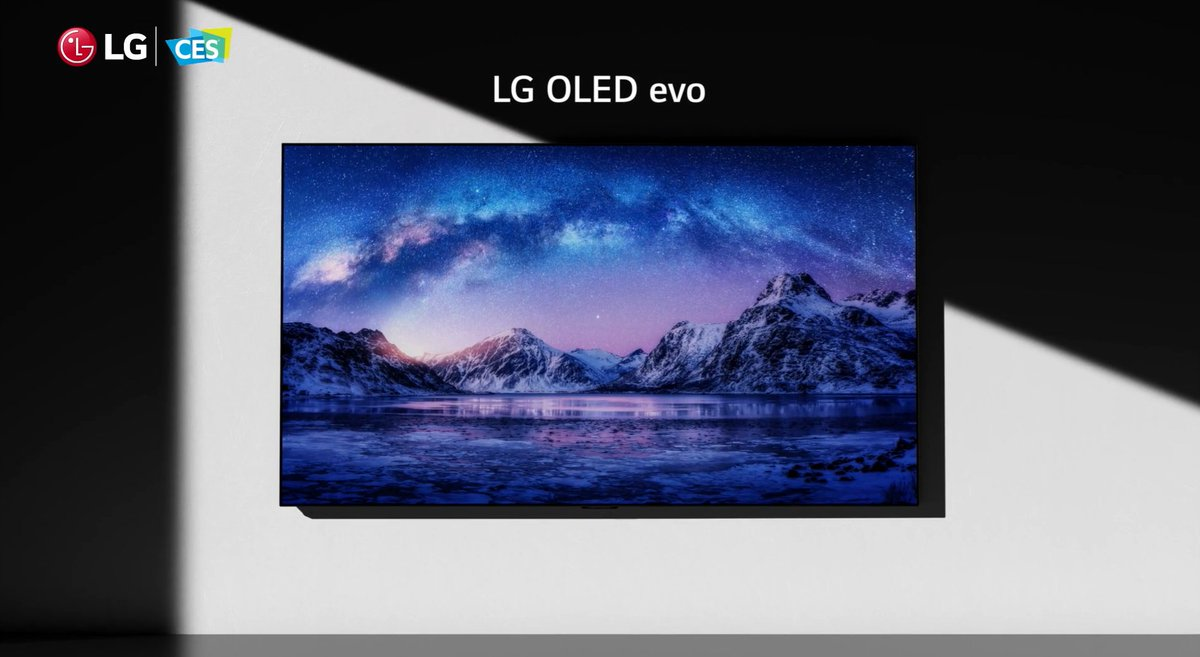 Viewers have always been able to count on an #LGOLEDTV for the best experience, no matter what they're watching, and we'll bring even further innovation in 2021: new panel technology, more powerful processors w/ AI capabilities and a redesigned webOS user experience. #LGCES2021