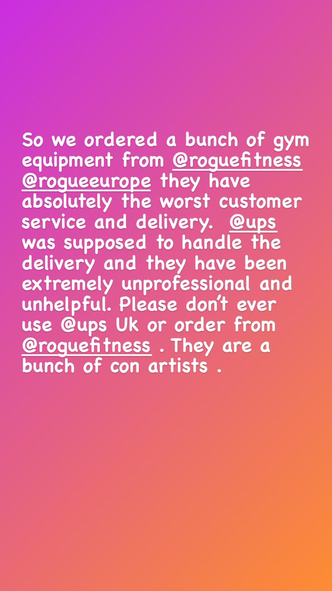 ⁦@RogueFitness⁩ you should be ashamed