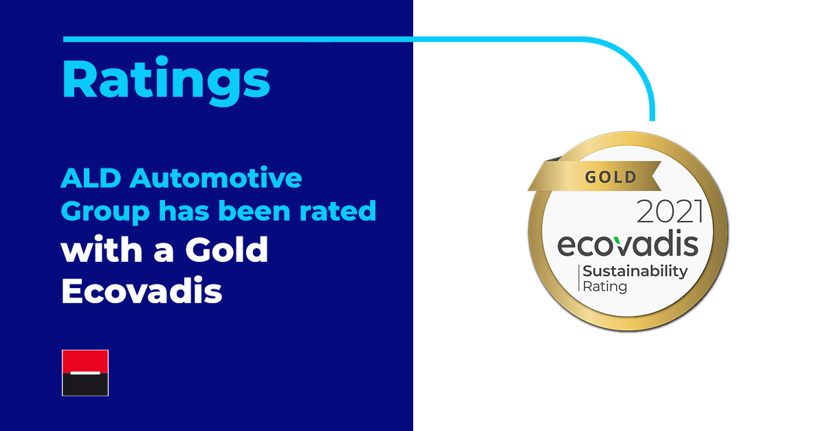 A good news to start 2021: we are happy to announce that our Group has received a Gold Ecovadis medal, for the 5th year in a row, in recognition of our sustainability achievements in 2020!  #ReadyToMoveYou #MoveForGood #sustainibility