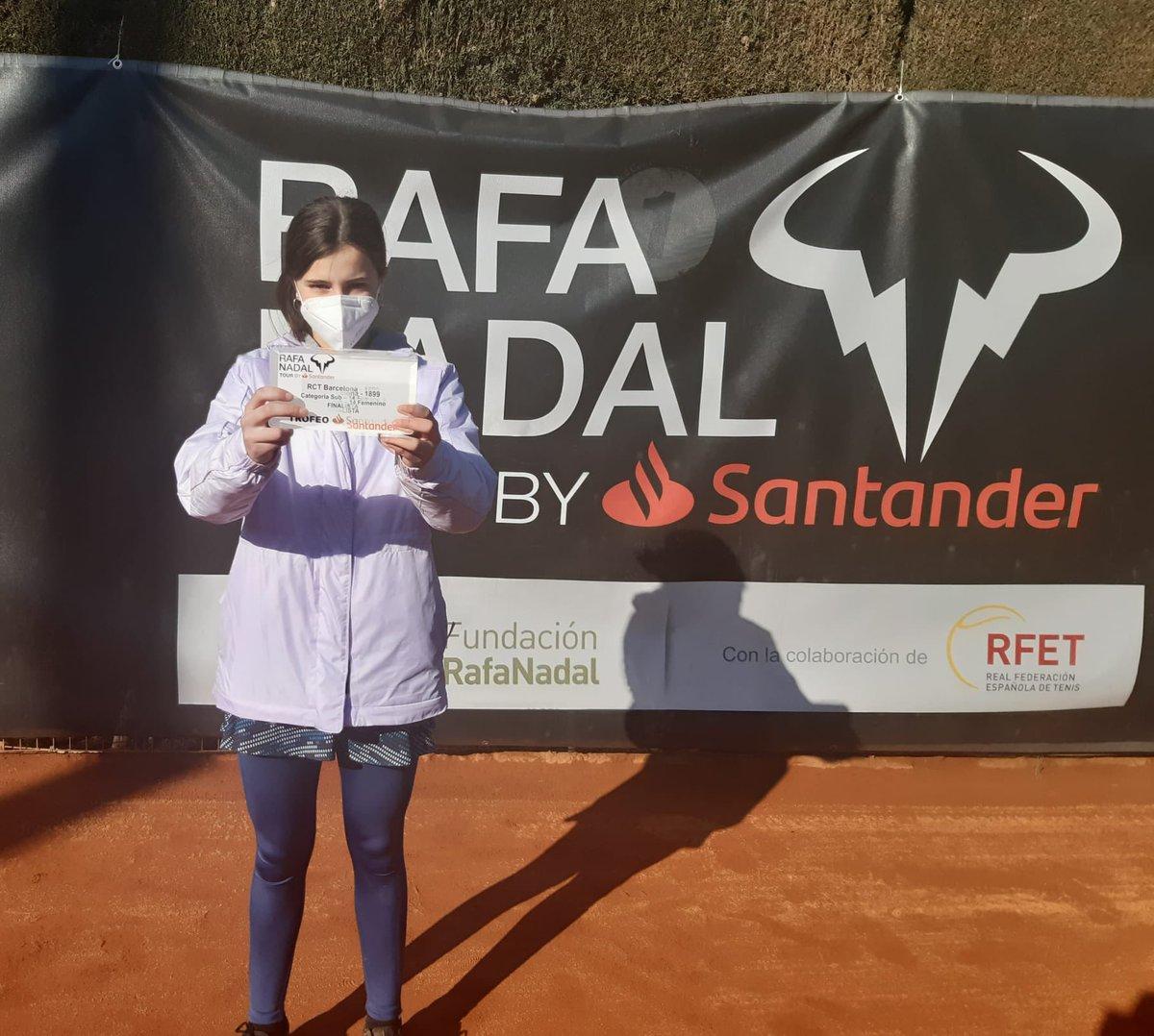 No pudo ser...Eugenia Menéndez Zozaya, ha quedado subcampeona del trofeo #rafanadaltour . Un gran resultado considerando que es el primer torneo del año y de las dificultadas para entrenar debido a las condiciones climáticas que nos acompañan  #rcto #tenisoviedo