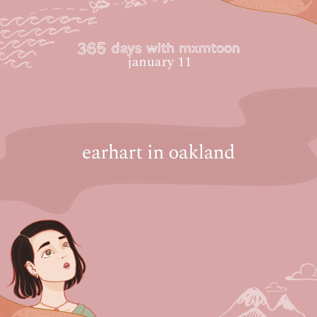 january 11: earhart in oakland  @mxmtoon @maryjblige