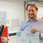Image for the Tweet beginning: Grafschafter Nachrichten saves costs with
