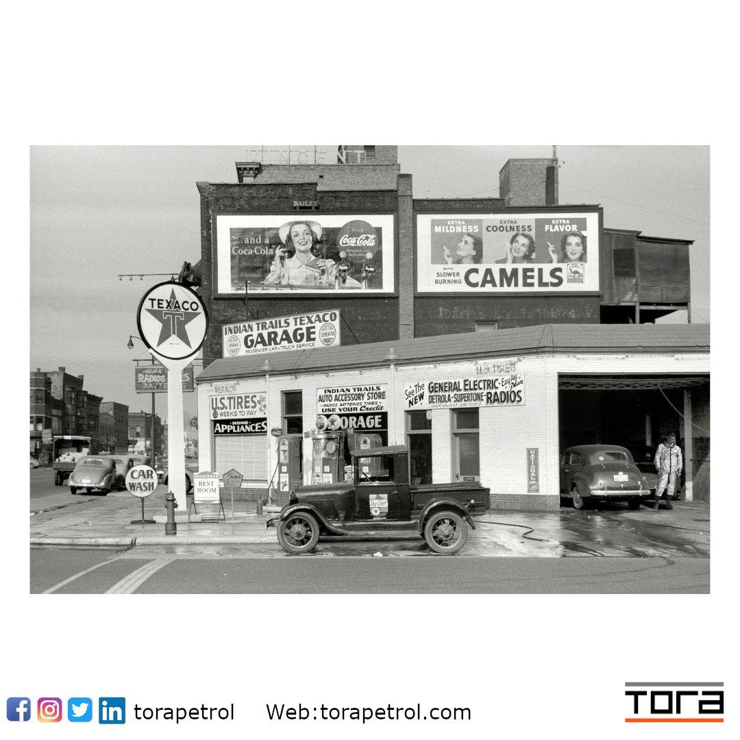 Geçmişten Bir istasyon #tbt #birzamanlar #benzinistasyonu #akaryakit #gasstation #oldgasstation #gaspomp #diesel