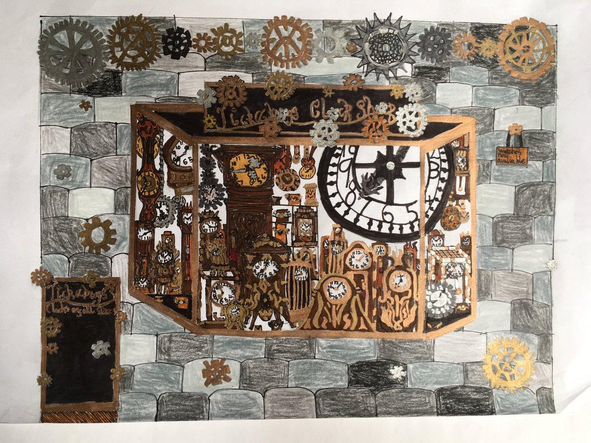 Tickabogs Clock Shop by Samson #TheIckabog #JKRowling