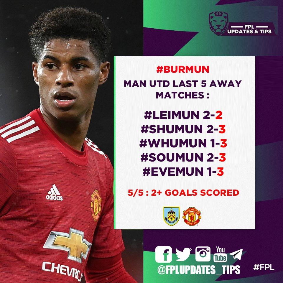 Man Utd Last 5 Away Matches : #LEIMUN 2-2 #SHUMUN 2-3 #WHUMUN 1-3 #SOUMUN 2-3 #EVEMUN 1-3  7/7 : 2+ Goals Scored 6/7 : 3+ Goals Scored