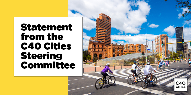 On January 1 2021, C40's new Leadership Standards came into effect.  The commitment of our 97 cities representing 700 million residents to the new standards demonstrates our world leading mayors' dedication to tackling the climate crisis.