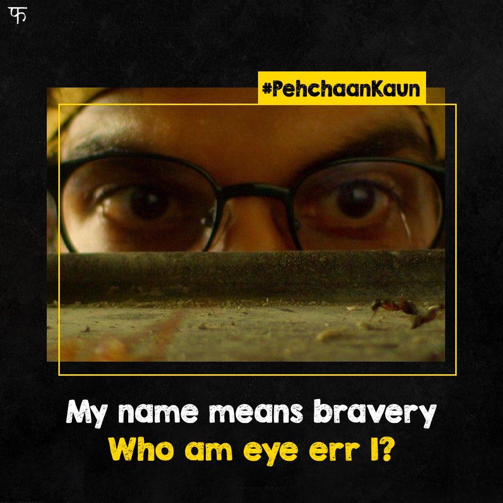 He redefines courage like no other. #PehchaanKaun