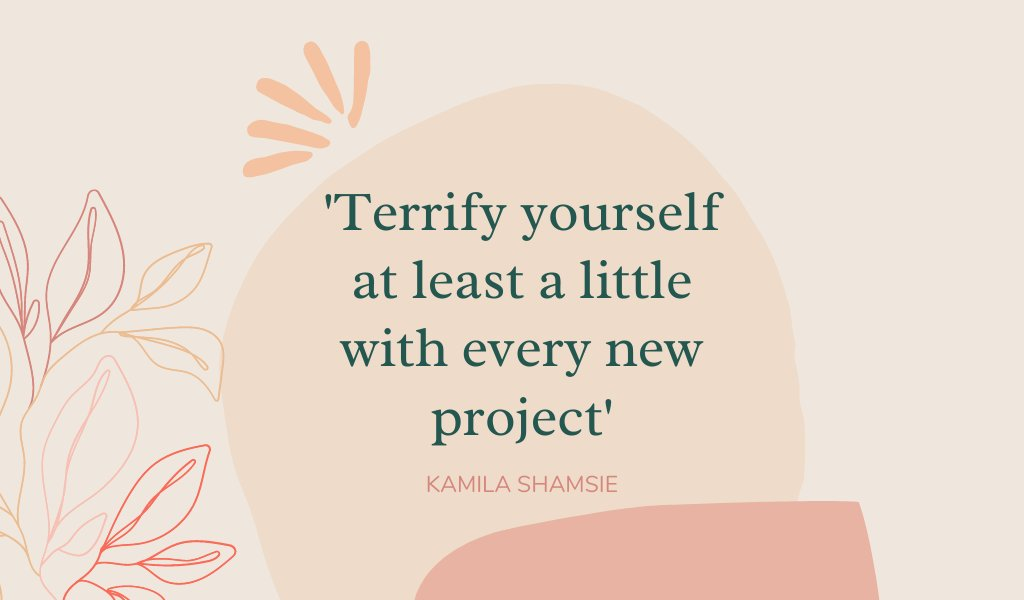 Cracking creative advice from #WomensPrize winner @kamilashamsie.  Especially for those of you entering Discoveries, our new writers' development programme, with @cbcreative & @NatWestBusiness.  There's just a few days left to enter, entries close Sunday: