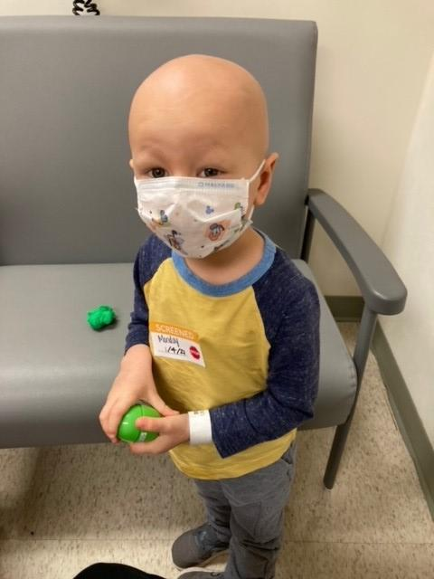 """St. Jude keeps us hopeful when times are the most difficult and helps solidify our faith that we will win our battle against pediatric cancer. I've said it before and I'll say it again, it's truly one of the most special places on planet earth."" Nolan, a St. Jude patient dad."