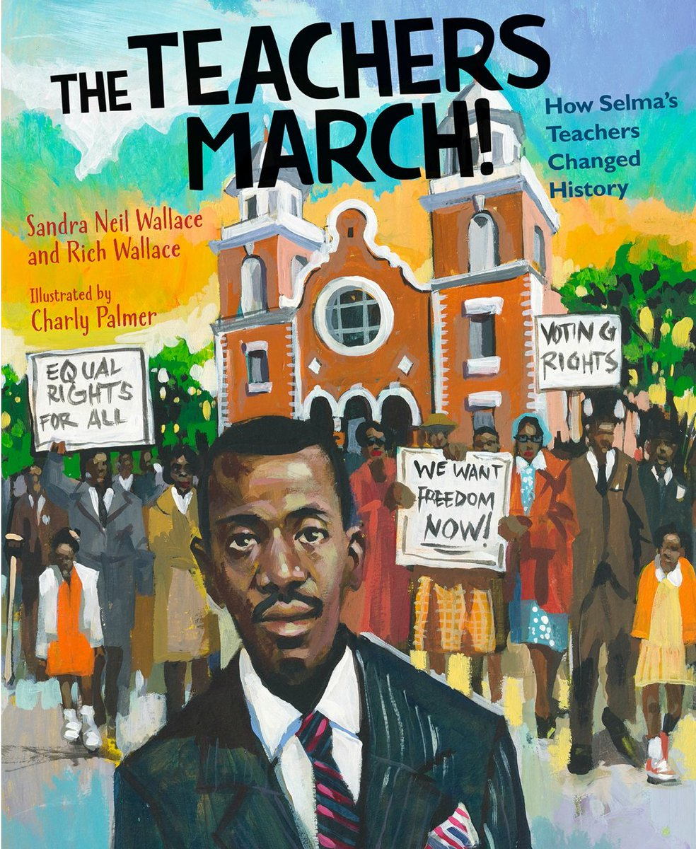 Teachers leading the way, a story pulsing with courage. @SandraNWallace @charlypalmer60 @boydsmillskane #CivilRights #kidlit