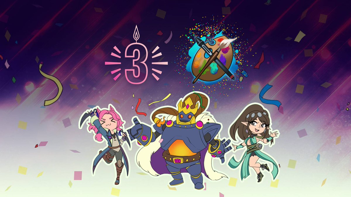 Today were announcing the launch of our Community Avatar Program! The first theme for this will be Paladins 3rd Anniversary! Check out our blog for details on how to enter and be a part of this. paladins.com/news/Paladins-…