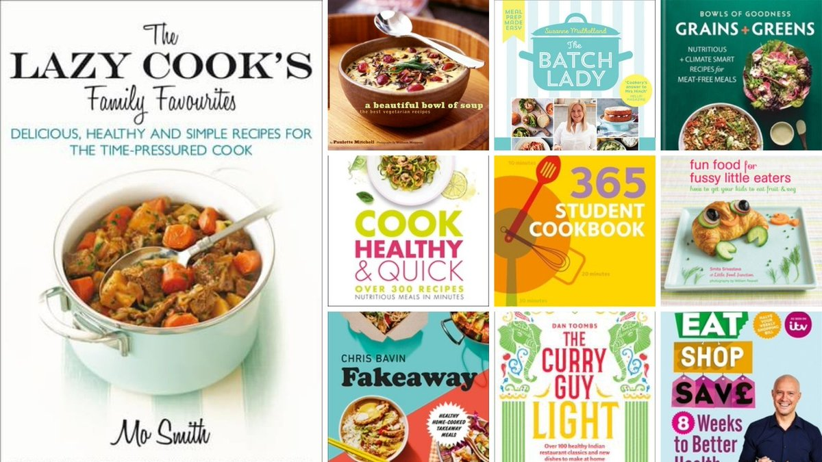 @GEHLibrary We certainly can! You could explore our catalogue for healthy eating ideas & cookery books on eating well. You'll find everything from vegan cooking to ideas for lunchtimes, warm winter soups and ways to make salad more exciting. Browse our catalogue: