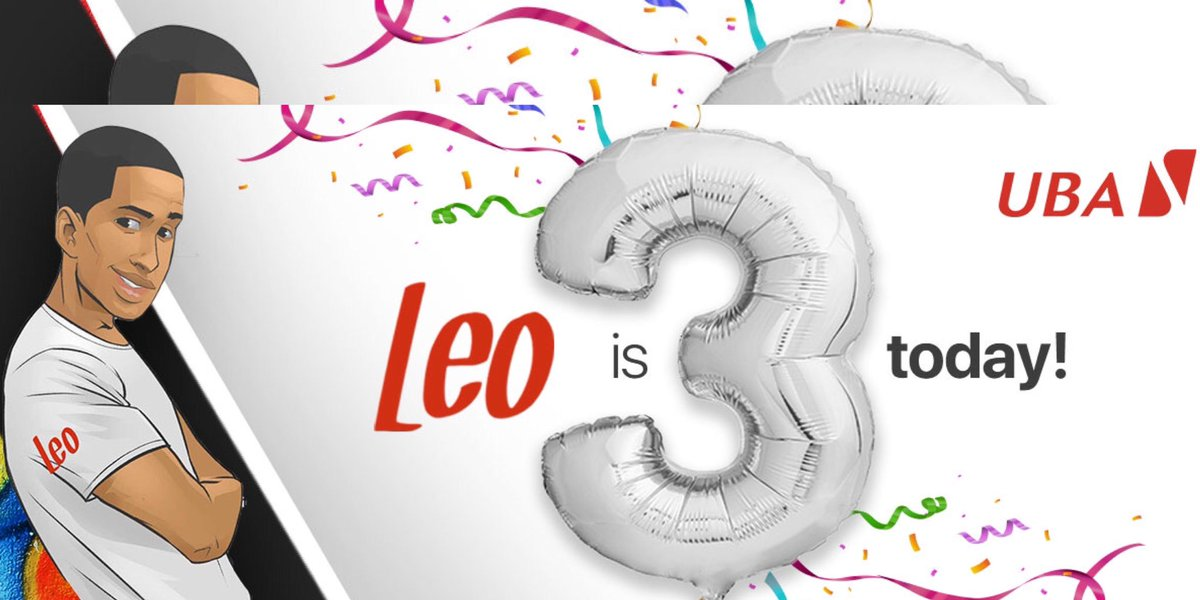 Happy Birthday Leo 🥂  Leo was born into the UBA family January 11th, 2018. He strongly believes in the tribe's Customer 1st philosophy and it drives everything he does.