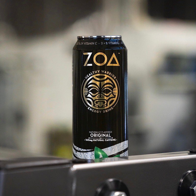 Introducing @ZoaEnergy - A first-of-its-kind energy drink created as a healthy solution for the unique challenges of today.  ZOA was created & developed by @DanyGarciaCo, @TheRock, @DaveRienzi and John Shulman to bring more positive energy to everyday life.   Coming this MARCH.