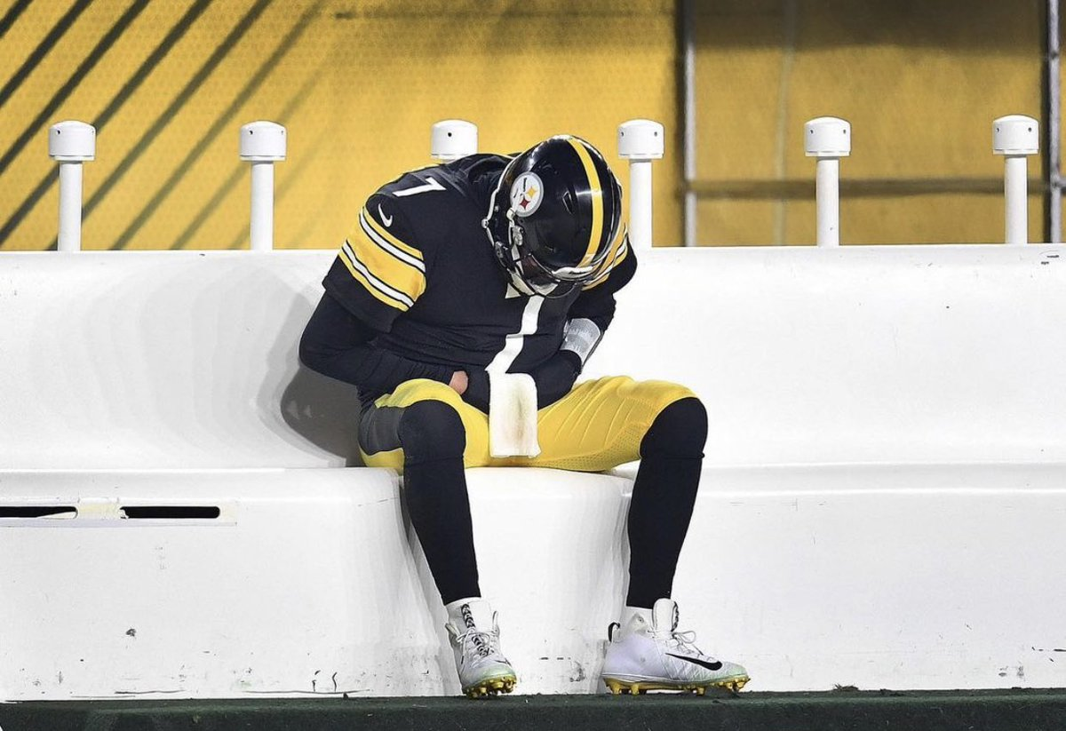 This man has given his all to this franchise, to his teammates, and #SteelerNation for 18 years..The turnovers last night were crushing. Can't win games like that. No idea where we go from here, but much love to Ben Roethlisberger. He's given us way more happy moments than bad.