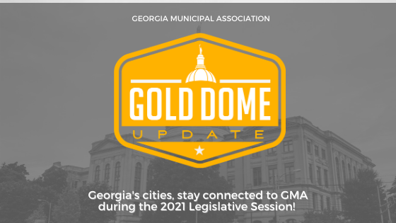 #GaCities, welcome to the first day of the 2021 Georgia Legislative Session! The GMA team looks forward to advocating on your behalf for local control and highlighting #CitiesUnited.