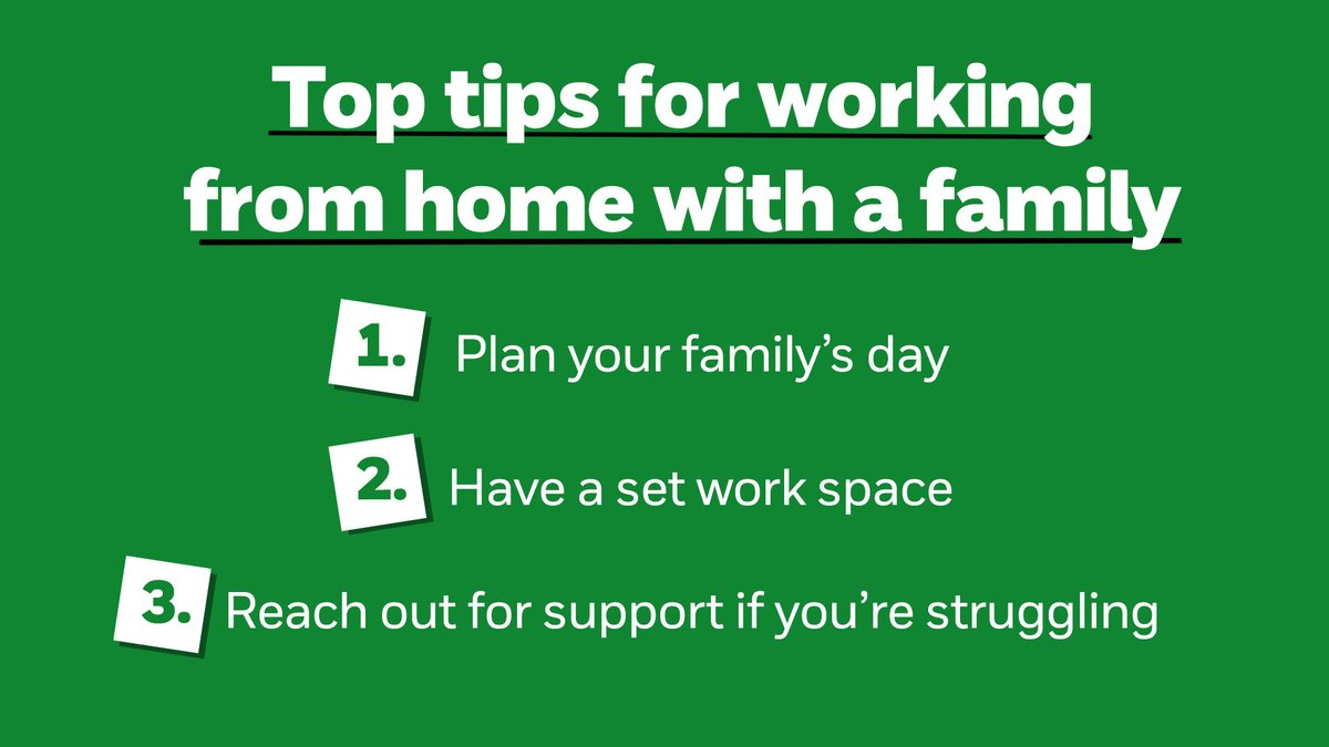 With schools closed for many children, we understand you might be worried about having to balance working from home with family life again.  We're here to help. Find out more, here: