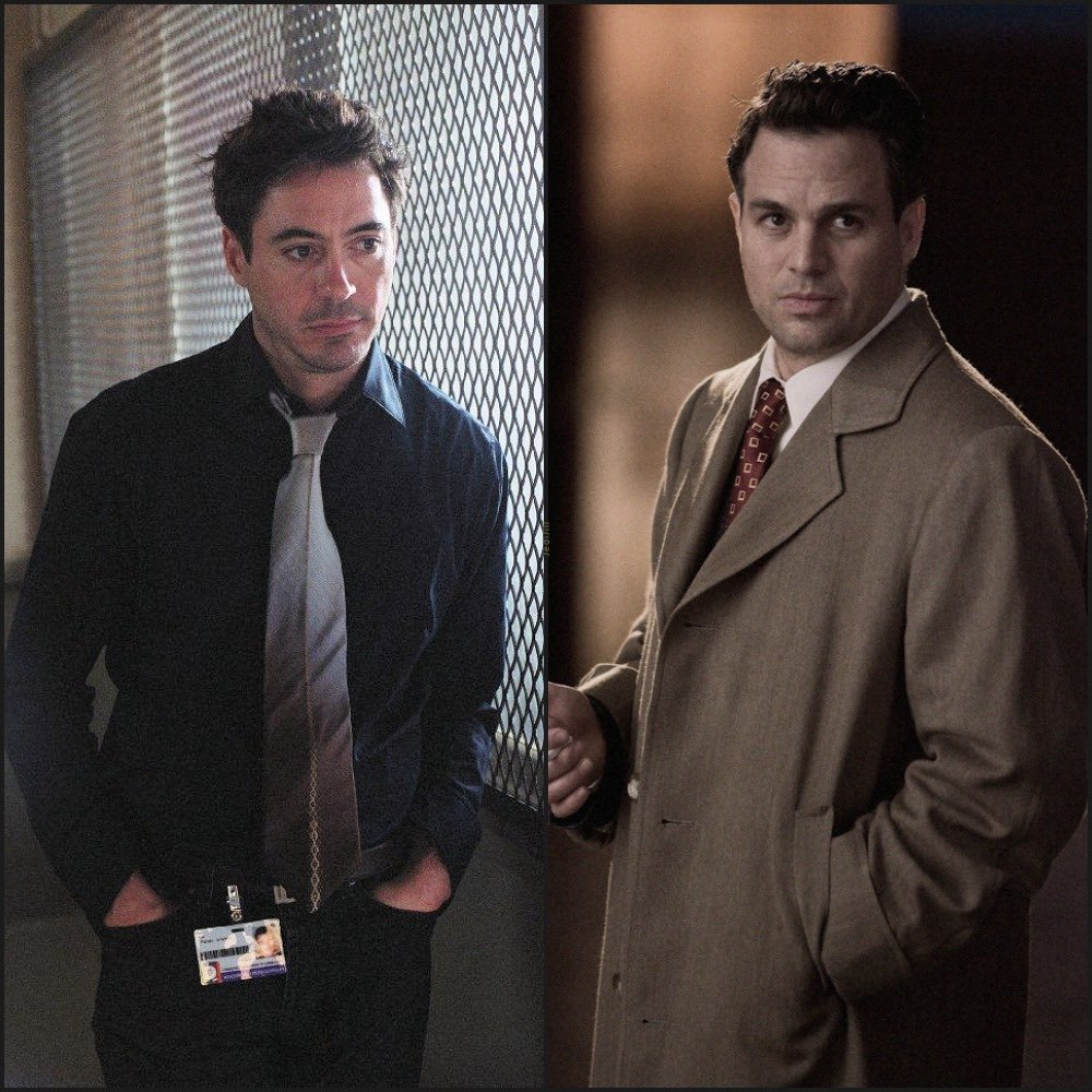 Pete and Chuck 😊 #MarkRuffalo #RobertDowneyJr #ShutterIsland #Gothika #ScienceBros #ScienceBrosForever #MondayMotivation