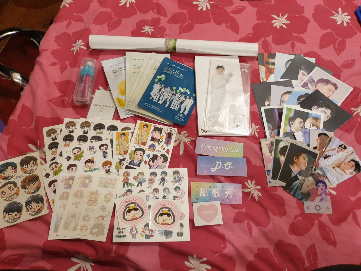 Kyungsoo's Birthday giveaway 🎂  - PH only - includes: natrep ksoo liptint, standee, facemasks, photocards, stickers, etc  - just like, rt and reply your birthday greetings to our fave bb ❤️ use the hashtags #OurPrideKyungsooDay #DYODAY2021 - ill announce the winner on Jan 25 😉