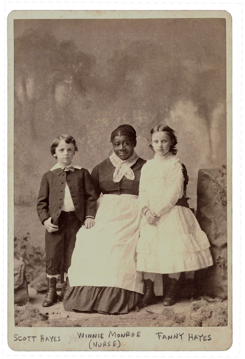 As adults, Lucy and Rutherford B. Hayes employed formerly-enslaved people, including Eliza Jane Burrell and Winnie Monroe. Monroe worked in the White House as cook and nurse to the youngest Hayes children, Fanny and Scott. (4/8)  Credit: Rutherford B. Hayes Presidential Center