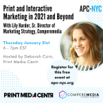 Image for the Tweet beginning: Join @apcnyc  for a