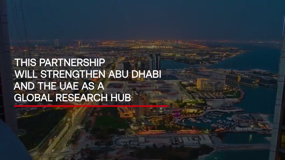 Beyond accelerating research and development of hyperloop technology, our partnership with @tiiuae, the applied research pillar of the Advanced Technology Research Council, further strengthens Abu Dhabi's position as a global R&D hub, inspiring the next generation to think big.