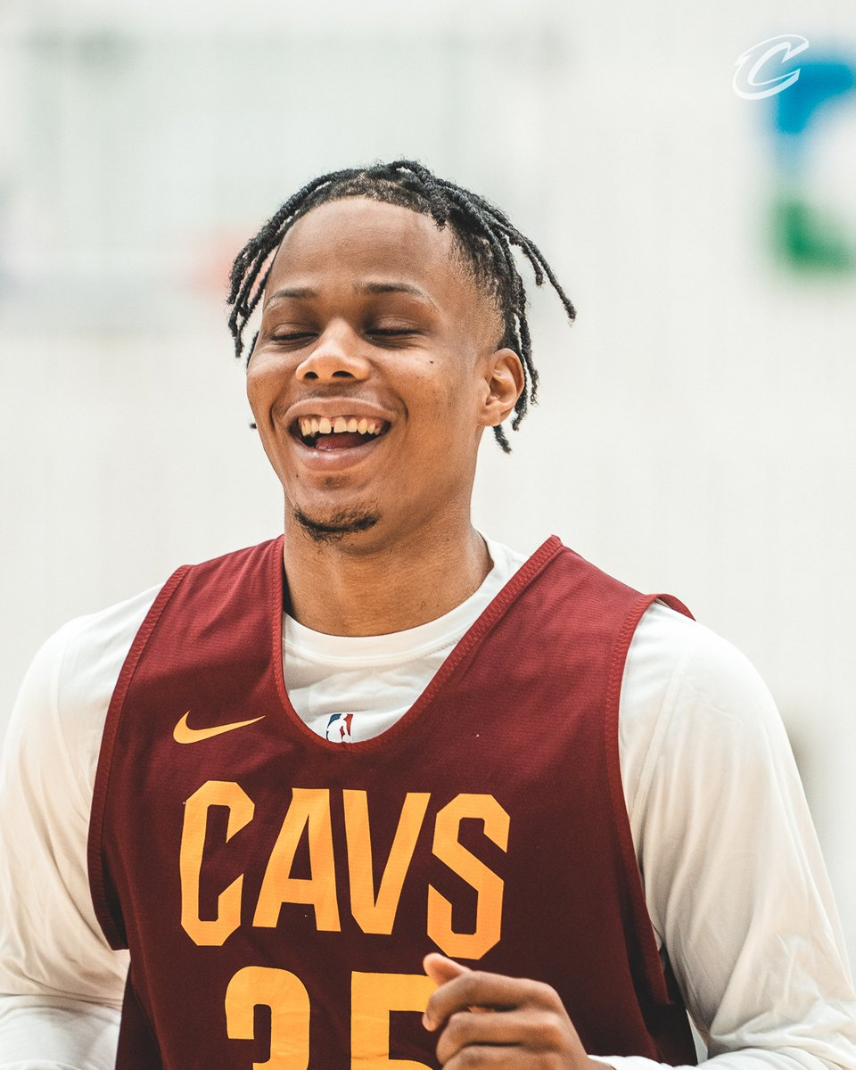Replying to @cavs: Back home!