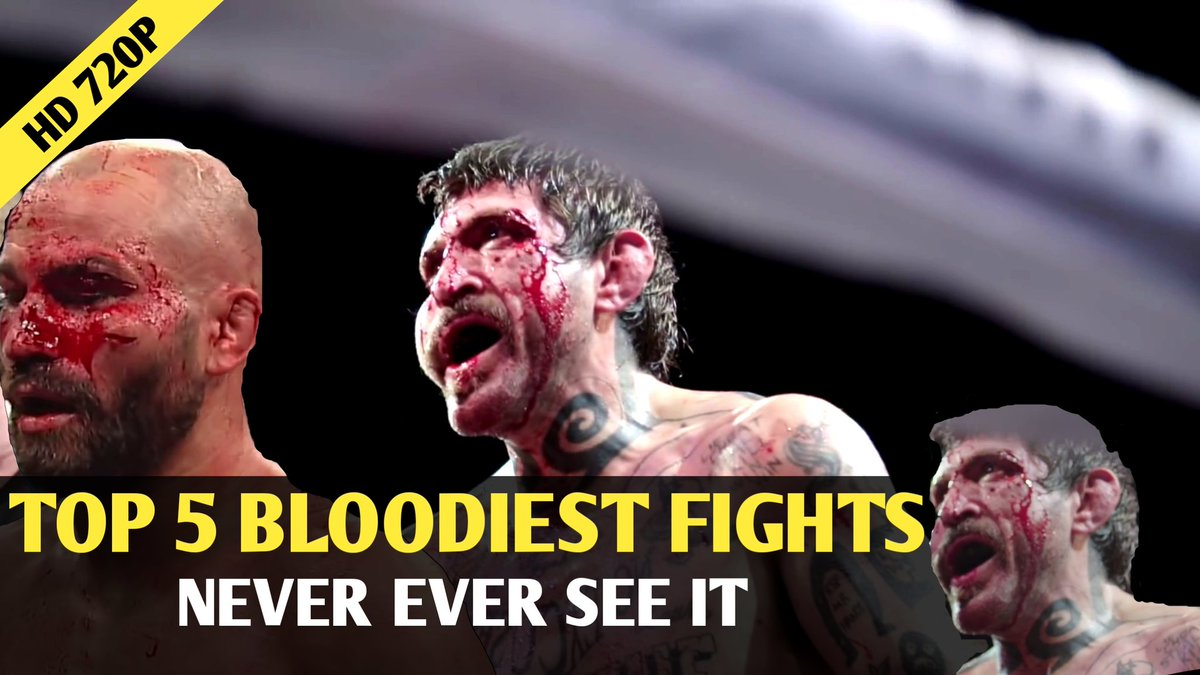 Top 5 bloodiest Fights Never see before HD   #Fight #boxing #Fighter #