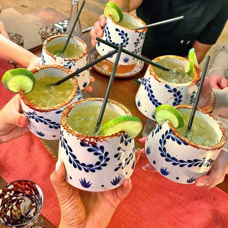 This is what Monday should be made of: Los Tres Gallos special margaritas @Clase_Azul   Reservations at (624)130-7709 or via @opentable   #lostresgallos #mondaymood #margarita #claseazul #downtowncabo #cabofoodie #margaritamonday #cheers #cabobar #cabonights #bestrestaurant
