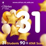Image for the Tweet beginning: 31 Sirius College Students have