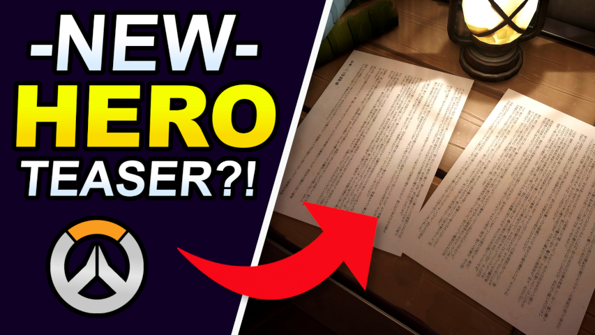 Master Ian Gamer - NEW HERO teaser!?  Kanezaka map release teaser hints further at a new Overwatch hero coming soon! -->