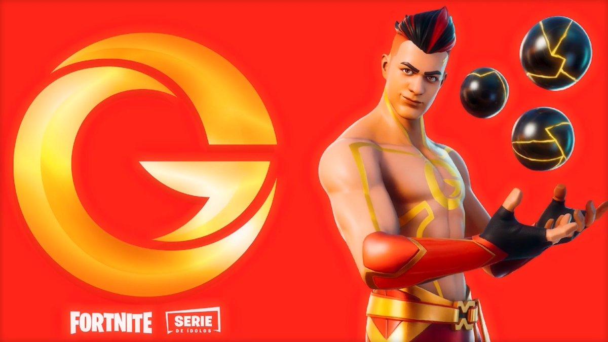 Replying to @HYPEX: Here's @TheGrefg's Fortnite Skin Reveal!