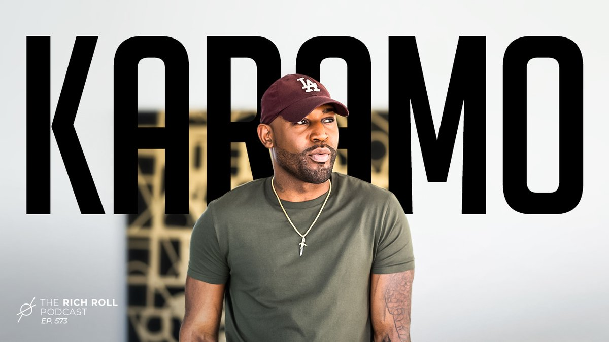 Karamo is Culture—@QueerEye star @Karamo on what holds people back. The importance of confronting our pain. The power of compassion + forgiveness. And so much more. What an absolute treat. #RRP 573 UP! Web:  YT: