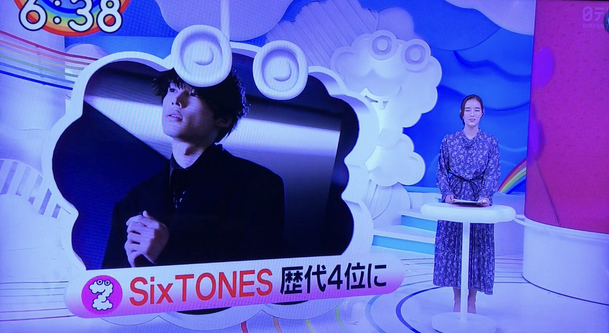 売上 Sixtones