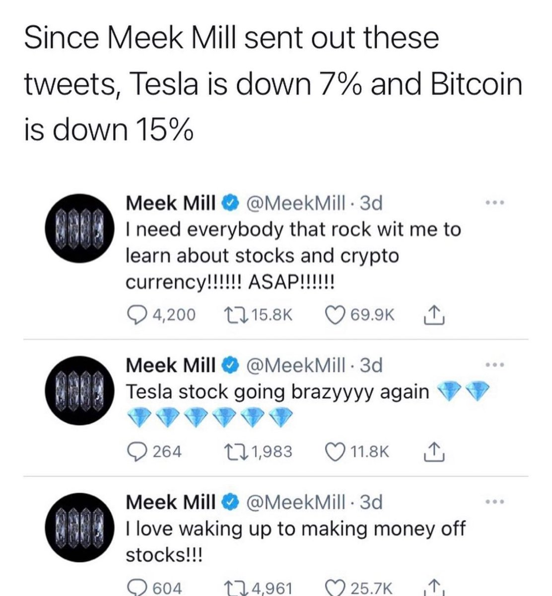 Aye G, you gonna have to get up off the internet man @MeekMill... 😂😂😂😂😂