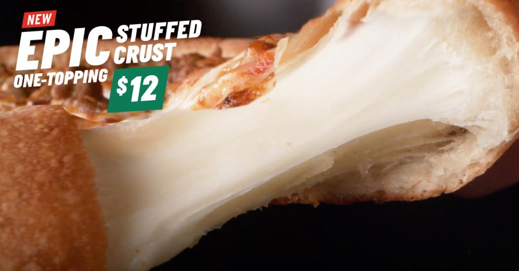 Make National Pizza Week EPIC! 🚨 Order new Epic Stuffed Crust Pizza now! 🍕 #NationalPizzaWeek https://t.co/VqDWbffFCS