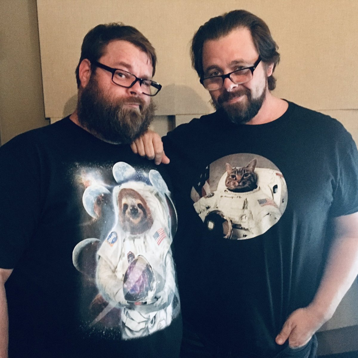 I'll use my rare Twitter day to wish one of my dear friends a happy birthday. We may talk massive amounts of shit to each other, but I promise it's purely out of love. I gave you #Inmanime, your most prized hashtag, and once head butted you to the floor. Happy birthday big guy.