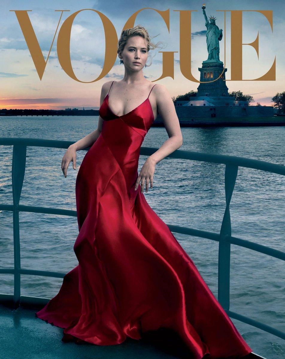 Jennifer Lawrence para a edição de setembro da Vogue 2017 https://t.co/ZiWRMP2pjA
